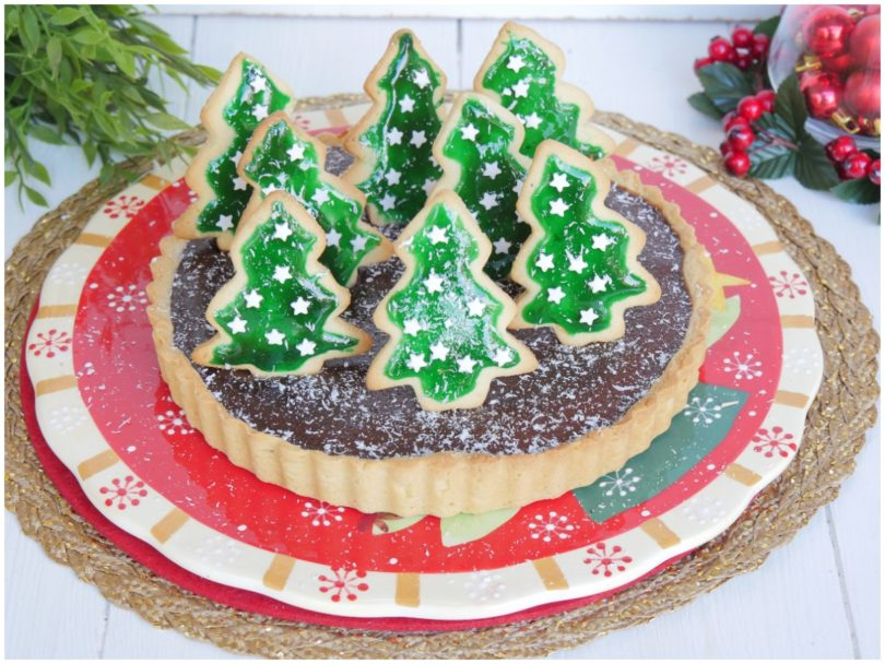 Dolci Natalizi Misya.Crostata Di Natale Ricetta Crostata Di Natale Di Misya