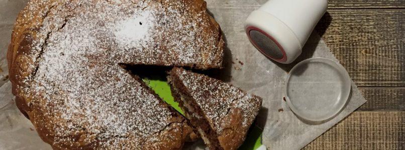 Torta vaniglia e cacao senza burro