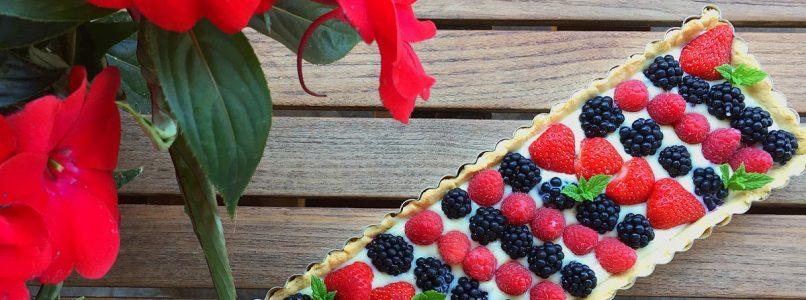 Anna in Casa: ricette e non solo: Crostata di frutta fresca