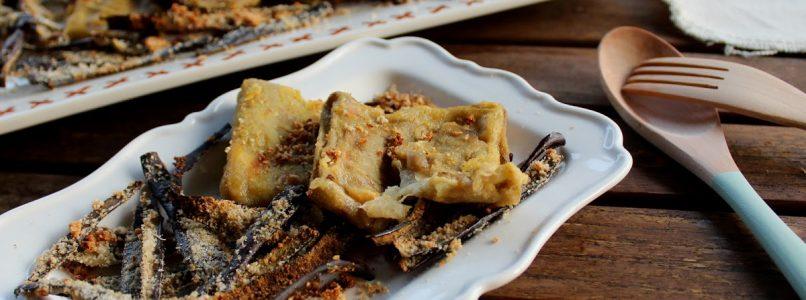 Anna in Casa: ricette e non solo: Sorpresine filanti di melanzane con bucce croccanti