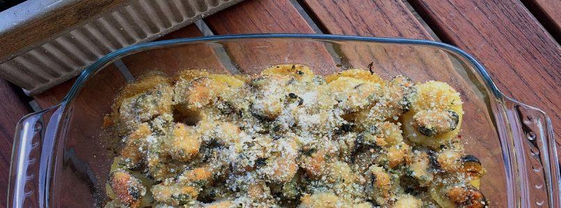 Anna in Casa: ricette e non solo: Tortino di cozze e patate al forno