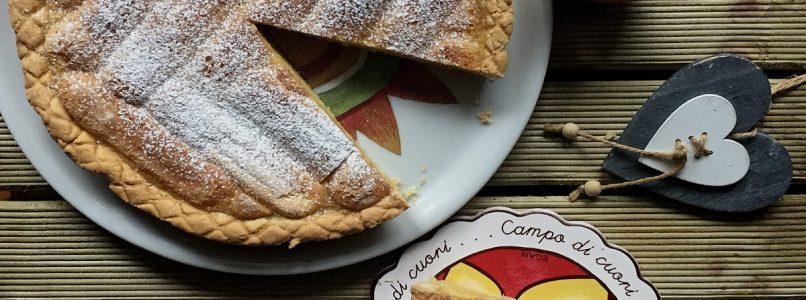 Anna in Casa: ricette e non solo: Crostata savoiadi e crema