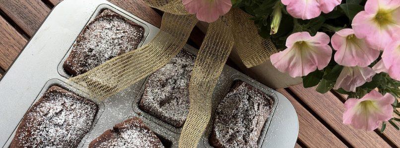 Anna in Casa: ricette e non solo: Mini plumcake cacao e gocce di cioccolato