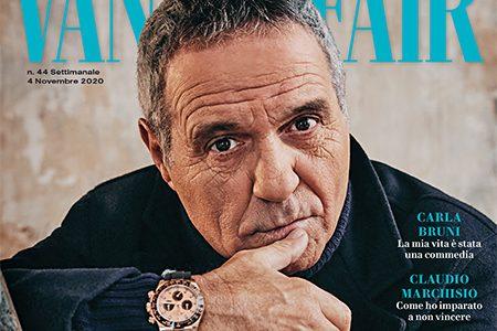 Giorgio Panariello in copertina su Vanity Fair