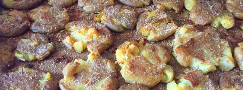 Anna in Casa: ricette e non solo: Patatine schiacciate al forno