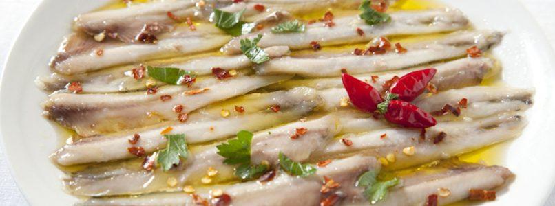 Alici marinate, un'esplosione di gusto e freschezza