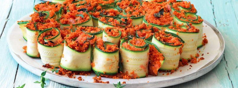 Farcisci e arrotola: 10 involtini con le zucchine