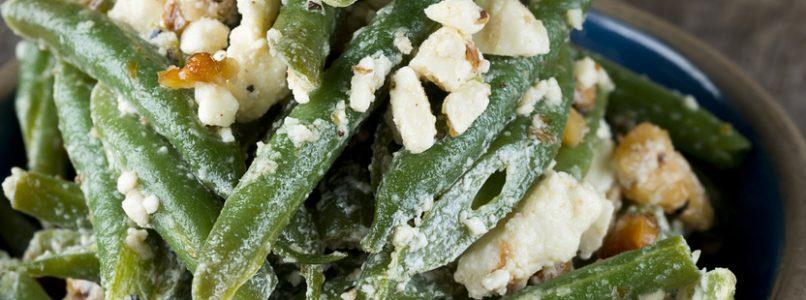 Finta pasta al pesto (senza pasta, con i fagiolini)