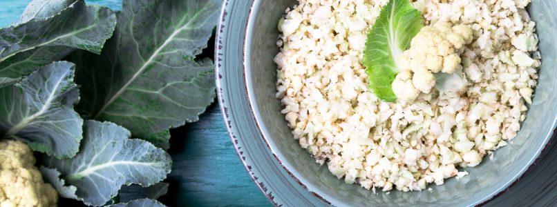 Il riso con il cavolfiore: un piatto unico ed equilibrato