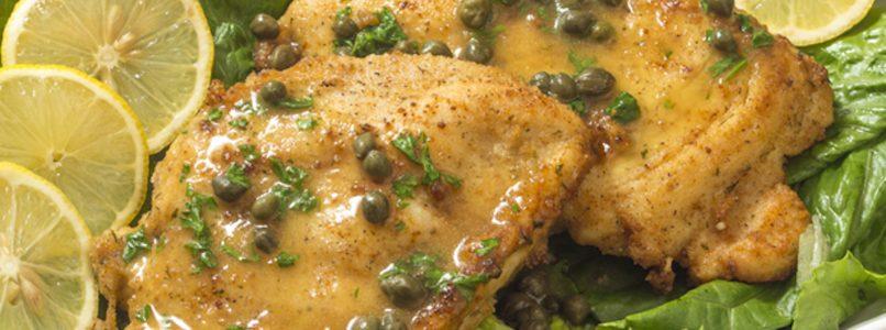 Il segreto della piccata di pollo al limone è la farina!