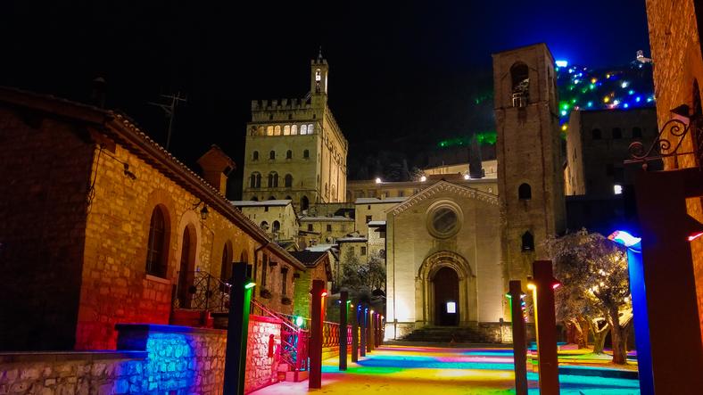 Il centro di Gubbio