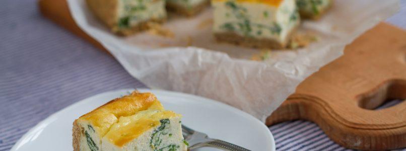 Prepariamo la cheesecake... di spinaci
