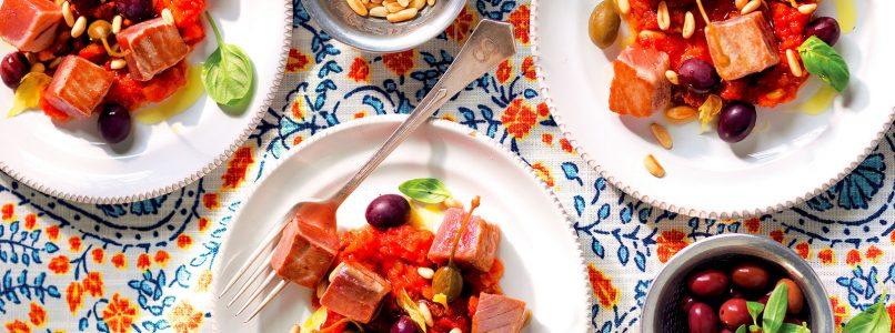 Ricetta Caponata di tonno - La Cucina Italiana