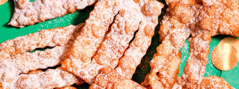 Ricetta Due chiacchiere - La Cucina Italiana