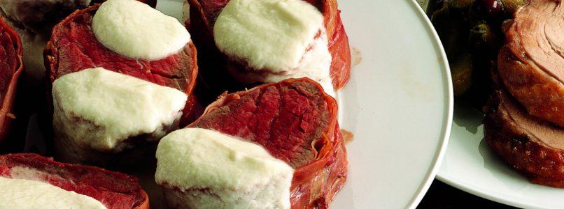 Ricetta Filetto di manzo con salsa al rafano