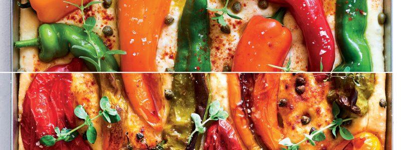 Ricetta Focaccia con peperoni e capperi