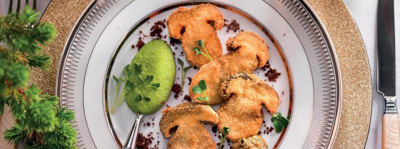 Ricetta Fungo porcino e bagnetto verde