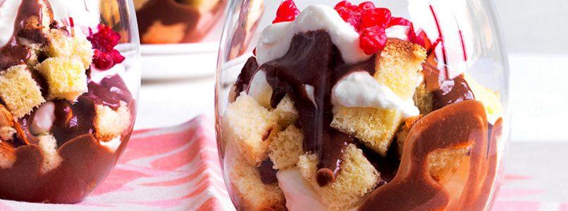 Ricetta Pan brioche, panna e cioccolato