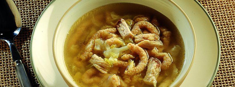 Ricetta Passatelli in brodo di pollo e verza