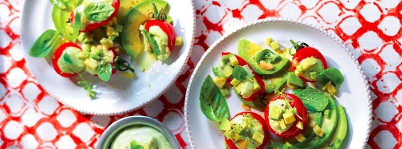 Ricetta Pomodorini ripieni di avocado