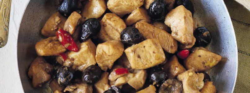 Ricetta Spezzatino di pollo con le olive