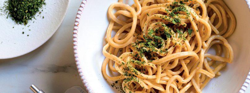 Ricetta Tagliolini burro e cime di rapa