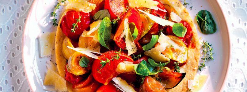 Ricetta Torta di pomodori - La Cucina Italiana