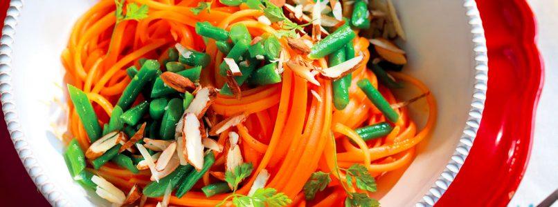 Ricetta Trenette con peperoni e fagiolini