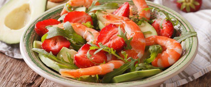 Ricette di piatti salati con le fragole