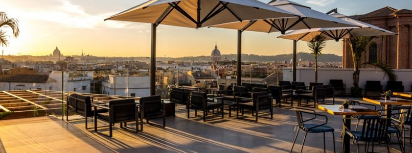 Roma d'estate: aperitivo in terrazza con vista