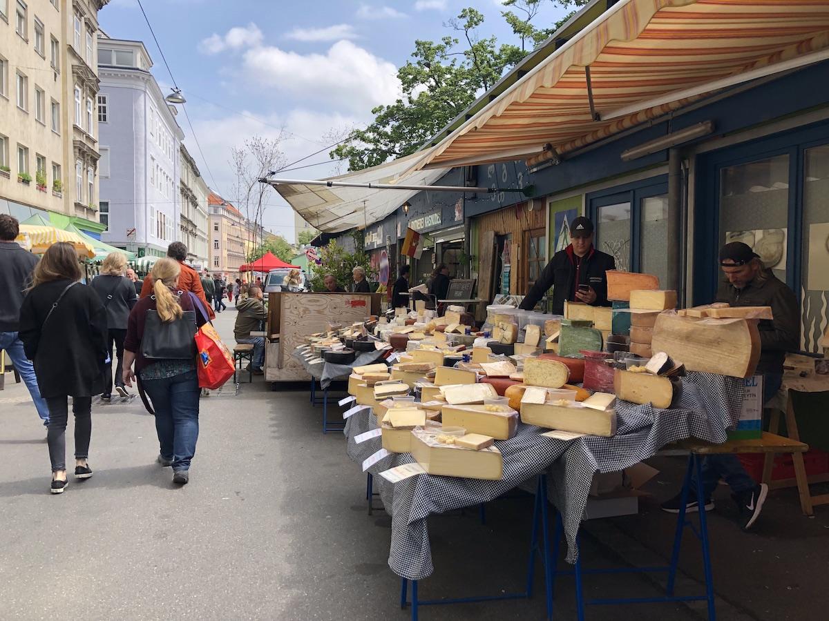 I mercati di Vienna.