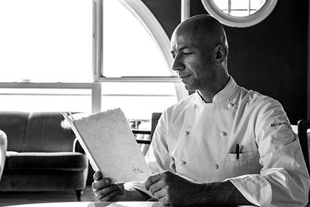 i menu dei grandi ristoranti in carta artigianale