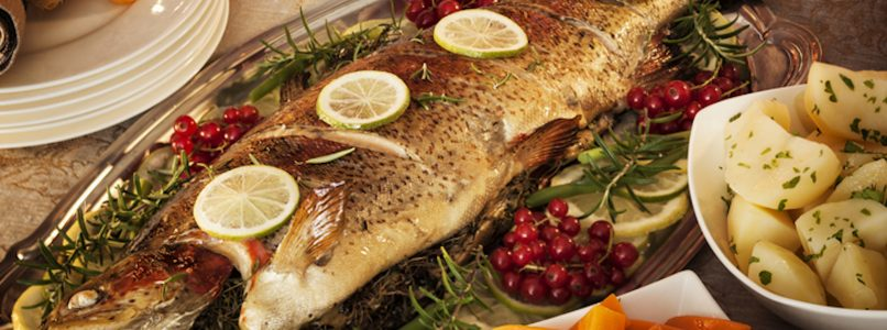 pesce arrosto come vuole la tradizione!